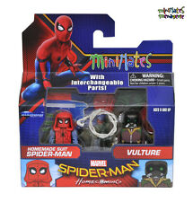 Marvel Minimates Series 73 Spider-Man Homecoming Movie Homemade Suit & Vulture