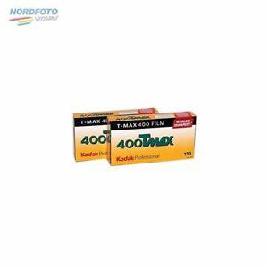 KODAK T-Max 400 (TMY) Schwarzweißfilm, 120, 2x 5 Stück