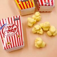 6pcs Pencil Eraser  For School Supply Rubber Correction Food Popcorn Statio Top