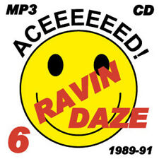 RAVE   ACID HOUSE   MP3 CD   OLD SKOOL     RAVIN DAZE 6