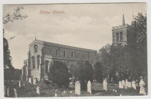 Bedfordshire postcard - Elstow Church (A34)