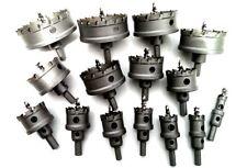 15Pcs Set Carbide Tip Drill Bit Hole Saw Alloy Metal Wood Cutter 15mm~100mm