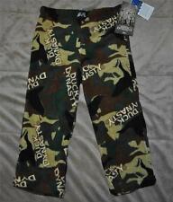 Duck Dynasty Camo Fleece Pajama Pants Boys Size Small 4 NWT