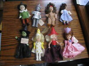 2007 McDonald's Complete Set of 8 Wizard Of Oz  Madame Alexander   # LV 2
