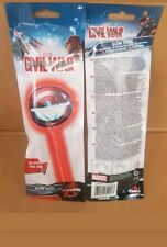 6 x marvel avengers captain america glowstick wands party bag fillers