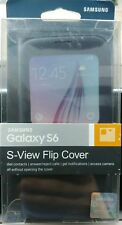 Samsung Galaxy S6 S-View Flip Cover Case - Blue G920 - Brand New - Authentic