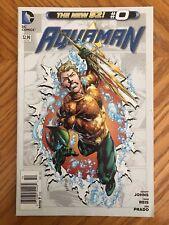 Aquaman 0 NEWSSTAND VARIANT EDITION New 52 DC COMICS VF/NM