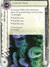 Android Netrunner LCG - 1x Curtain Wall  #078 - True Colors