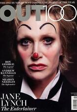 Out Magazine 12/12 gay The Entertainer JANE LYNCH