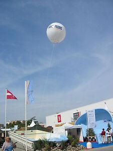 Ballon 2 m de diametre communication publicité publicitaire NEUF sans marquage