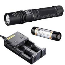 Fenix E35 Ultimate Edition 900 Lumen CREE LED Flashlight i2 Charger & Batt E35UE