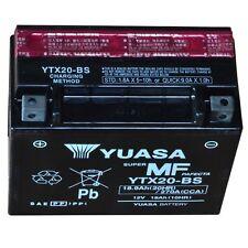 Yuasa YTX20-BS Motorrad Batterie für Honda, Kawasaki, Suzuki, Moto Guzzi Morini