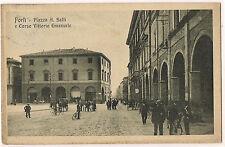 Forlì - Piazza A. Saffi e Corso Vittorio Emanuele