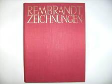 REMBRANDT ZEICHNUNGEN OTTO BENESCH PHAIDON 1947