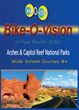 "Bike-O-Vision Cycling Video, ""Arches & Capitol Reef Natl Parks"" Widescreen DVDs"