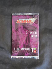 GUNDAM WING MOBILE SUIT SERIES 1 SEALED PACK. UPPER DECK/BANDAI