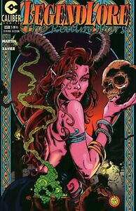 Caliber Comic Book Legendlore: The Realm Wars Issue #9A (1 of 4) Fantasy World