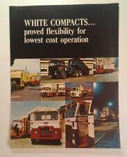 1968 White Compact Tractor Truck Sales Brochure  Rare VHTF 8.5x11 Original