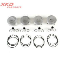 4Pcs (5-8) Piston&Ring Assembly Fit For Audi RS5 Cabriolet 079107065CS 077198151