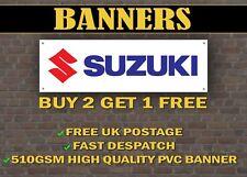 LARGE 2 METRE Suzuki Banner for Garage / Shop / GSXR SV TL