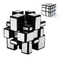 Zauberwürfel MoYu Meilong Mirrorcube 3x3 silbern original speedcube magic cube