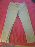Premium Kids Khaki Pants Girls Size 14  School Uniform Stretch