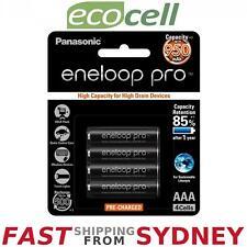 Panasonic Eneloop Pro 950mAh, AAA Rechargeable Batteries (4 Pack), SYDNEY