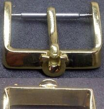 "Original Omega Buckle ""Ω"" Buckle Fibbia 20mm inner Yellow Gold Plated L@@K ! !!"