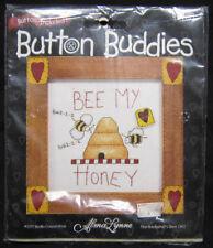 Alma Lynne Button Buddies 41730 Bee My Honey Buddy Counted Cross Stitch Kit