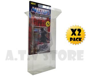 ATV Protectors / Cases / Display Cases for Super7 / MOTU Figures Large x 2