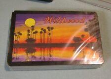 Vintage Wildwood New Jersey Sealed Playing Cards Deck Hong Kong Travel Souvenir