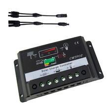 5Amp 12V/24V Solar Panel Charge Controller Battery Regulator + MC4 Connector Jб