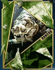 Topps Star Wars Card Trader FRACTURED ROTJ The Rancor Gold