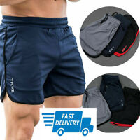 Casual Men's GYM Shorts Training Running Sport Workout Jogging Pants Free Ship J