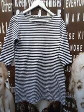 "Niko And ... Dress Tunic Cotton Stripe Nautical Casual Small C35"" UK Size 8/10"