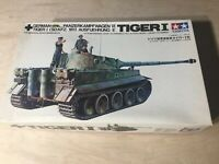 Tamiya Tiger I German Panzer 1/35 Motorized Plastic Model Kit