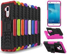 Désign Armure Anti-choc Coque Support Pour Huawei Téléphone Portable