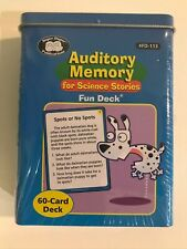 Super Duper Publications Auditory Memory for Science Stories