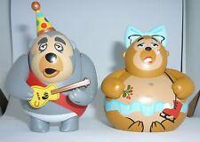 Disney Park Starz Series #3 Vinylmation ( Big Al & Trixie from Christmas Show )