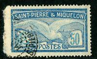 French St Pierre Miquelon 50¢ Seagull Commem VFU R747 ⭐⭐⭐⭐⭐