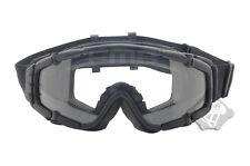 FMA Kühler Lüfter schwarz Outdoor Paintball airsoft Brille Ballistic Goggle