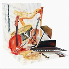 Pop-Up Greeting Card Trearures by Popshots Studios - Classic Music
