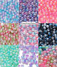 ABS 4mm 6mm 8mm Colour Acrylic Round Pearl Spacer Loose Beads Jewelry Making