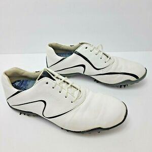 FootJoy LoPro Women's US Size 7.5 Golf Shoes White/Black Style# 97094 Soft Spike