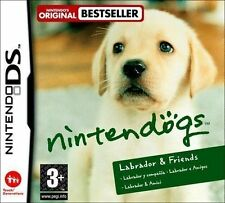 DS Nintendogs Labrador & and Friends Game Lite DSi 3ds Nintendo PAL