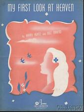 1948 Harry Kurtz and Bill Marino Sheet Music (My First Look at Heaven)
