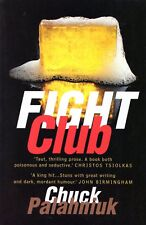 Chuck Palahniuk FIGHT CLUB - two First Paperback Editions: Australia & France