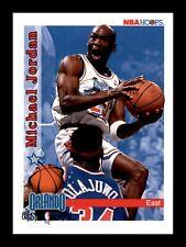 1992-93 NBA Hoops Michael Jordan #298 All Star Chicago Bulls HOF