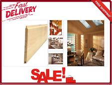 Knotty Pine Edge V-Plank Kit 3-Pack 5/16 X 3-11/16 in X 8 Ft Paintable Lumber
