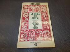 CARLO LAPUCCI:LA BIBBIA DEI POVERI.STORIA POPOLARE DEL MONDO.OSCAR MONDADORI '86